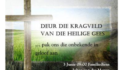 Kragveld van die Heilige Gees 3 Junie